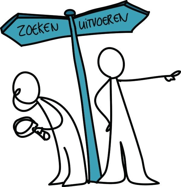 Zoeken versus Uitvoeren