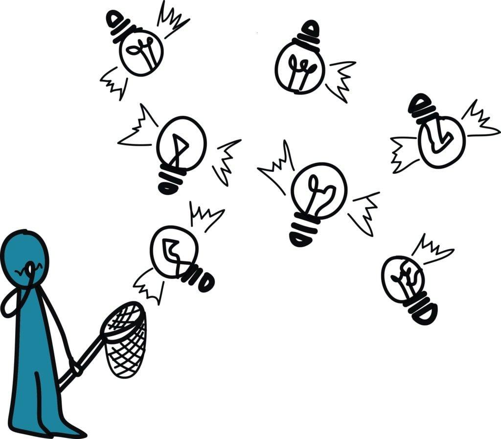 Capturing startup ideas