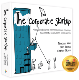 The Corporate Startup book